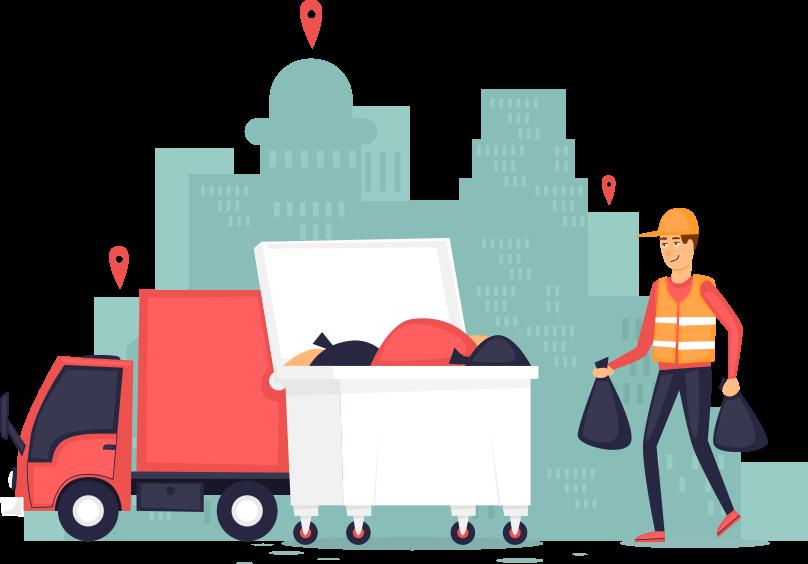 Bedrijfsafvalophalen.nl huur voordelig een rolcontainer voor uw bedrijfsafval