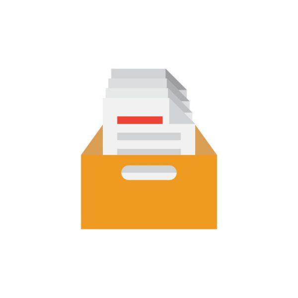 Papiercontainer huren voor karton en oud papier bij BedrijfsafvalOphalen.nl