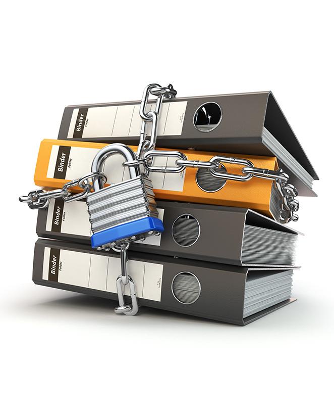 Document vertrouwelijk papier voor in de papiercontainer van BedrijfsafvalOphalen.nl